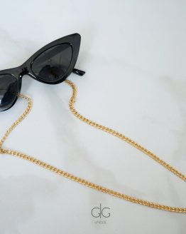 Glasses chain gold plated stainless steel - GG UNIQUE