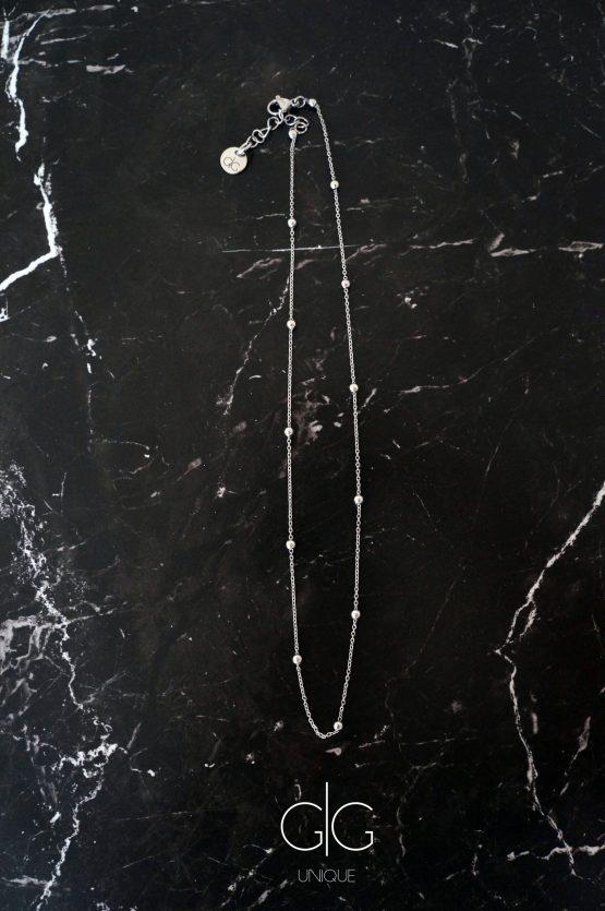 Minimal style bubble chain necklace - GG UNIQUE