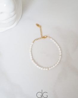 Delicate small pearl bracelet - GG UNIQUE