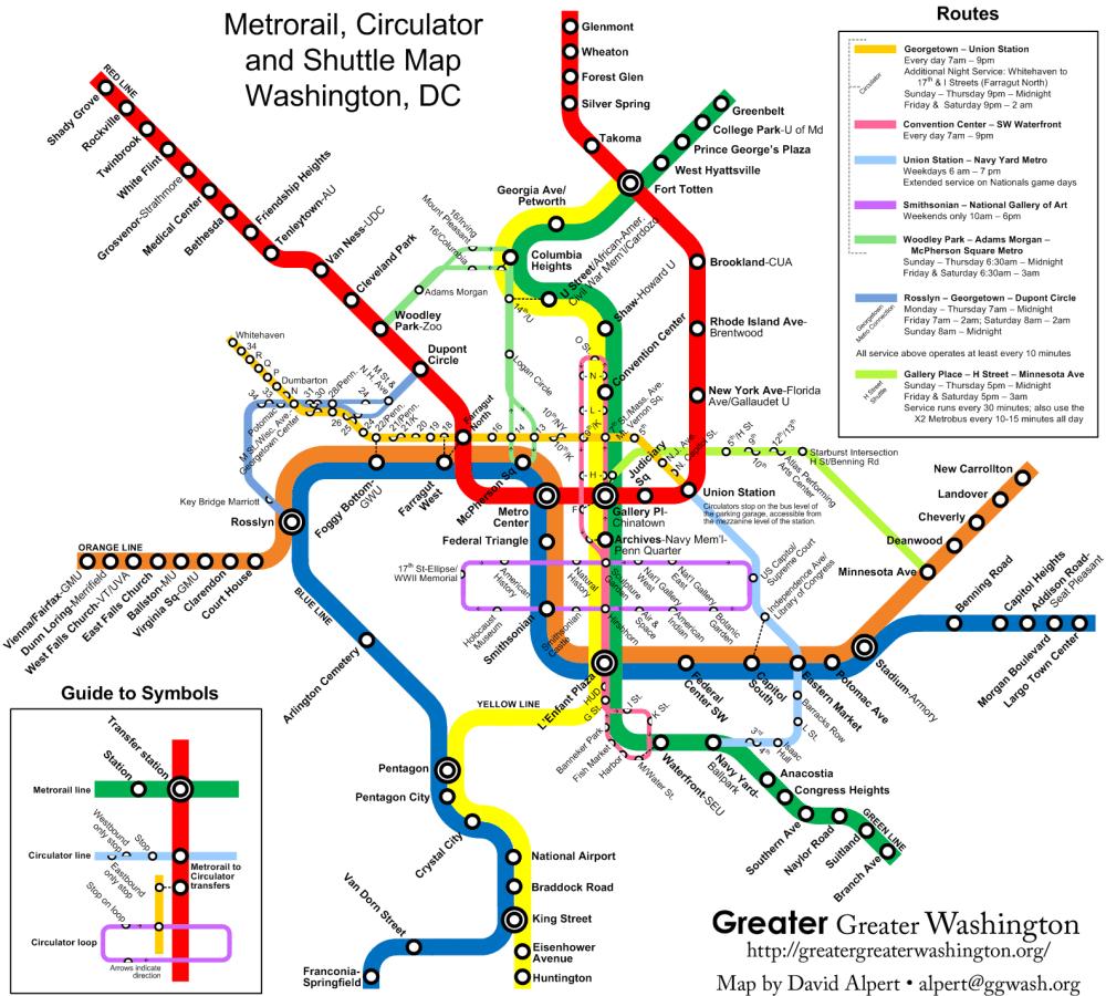 medium resolution of the new circulators and the metro map