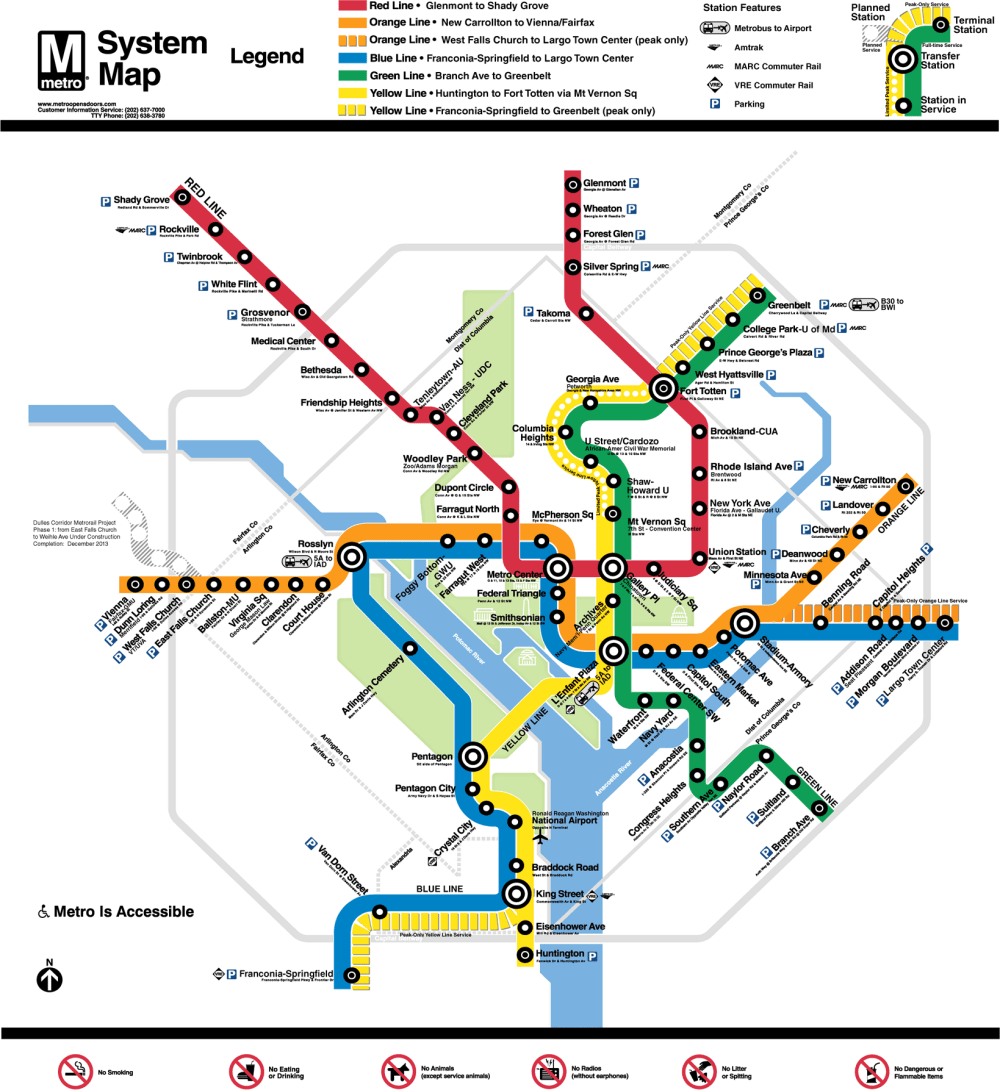 medium resolution of new metro map changes little but improves much