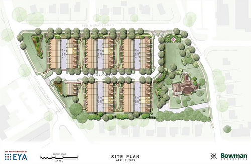 Townhouses win approval in Silver Spring  Greater Greater