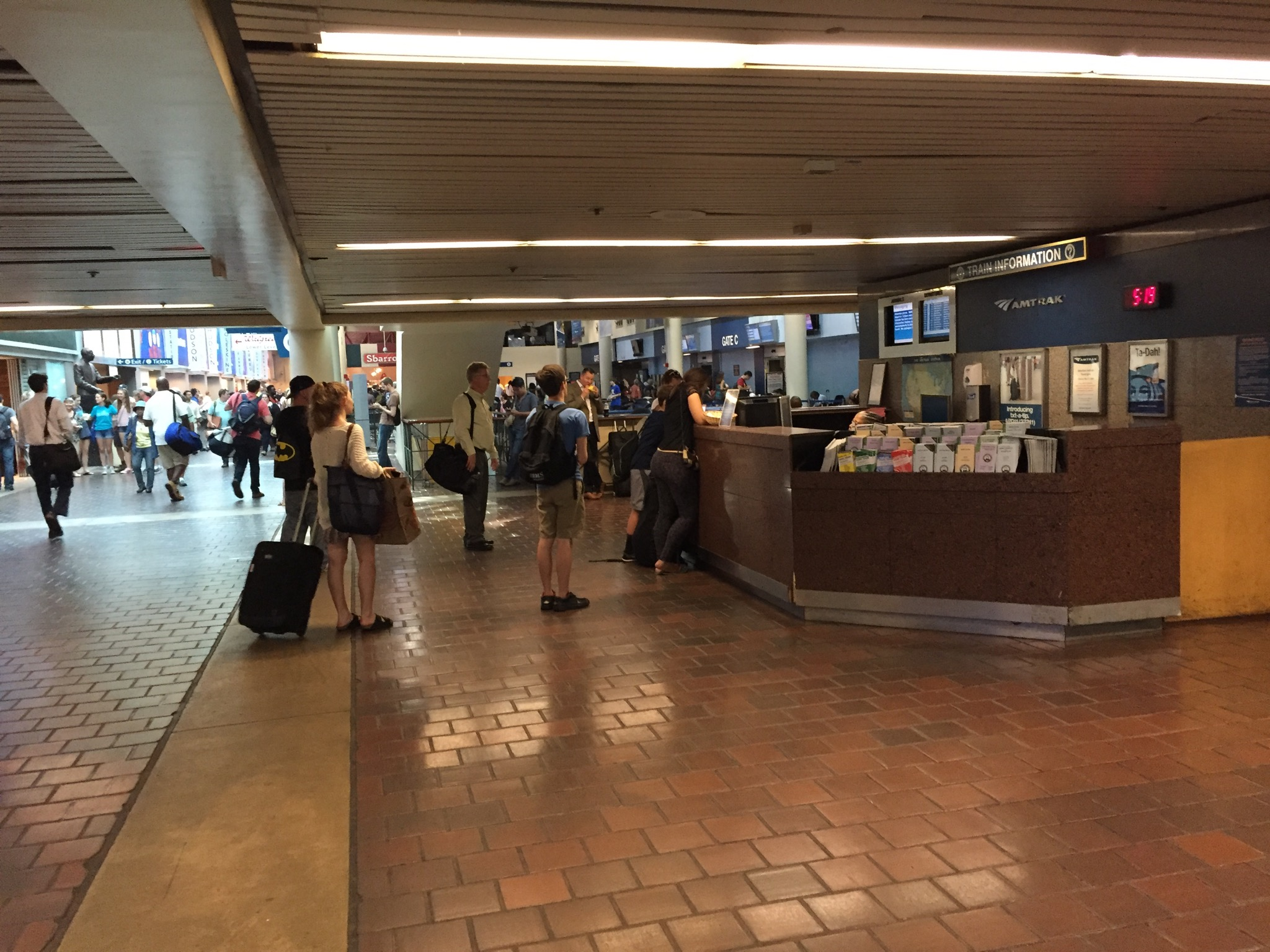Union Stations concourse could get a big facelift