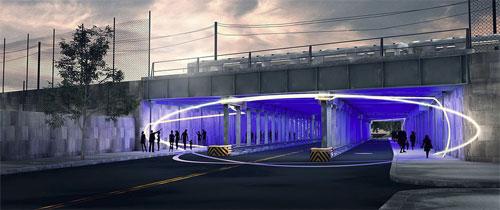 Urban Light Art