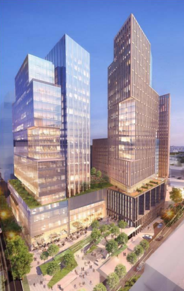 Bethesdas Apex Building could become one of the regions tallest  Greater Greater Washington