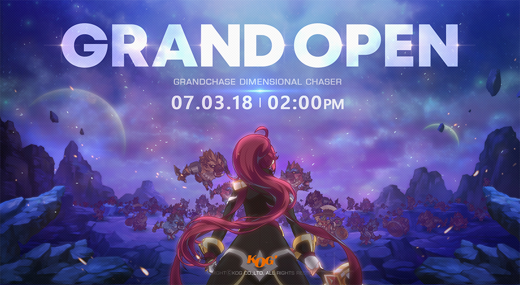 GrandChase – Dimensional Chaser Grand OPENING Tomorrow