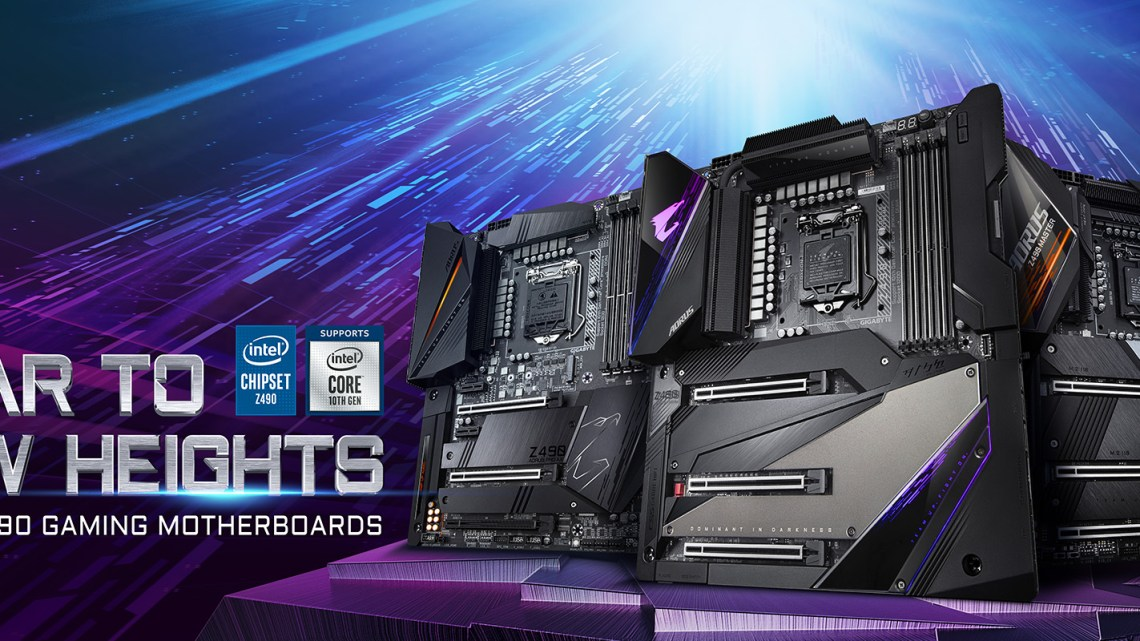 GIGABYTE Launches Z490 AORUS 10th Gen Intel Motherboards