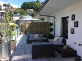 Sichtschutz Ideen - Garten Sichtschutz Bambus - Balkon