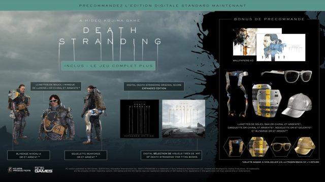 death stranding pc édition digitale