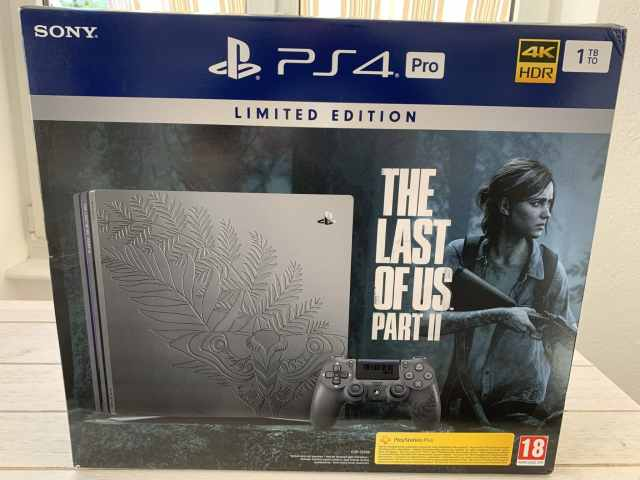 A la découverte de la Playstation 4 Pro collector « The Last Of Us Part II »