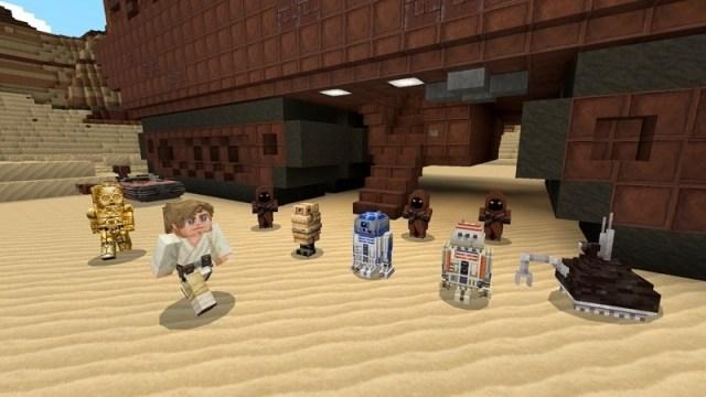 Minecraft : pack Starwars et promo sur le jeu de société