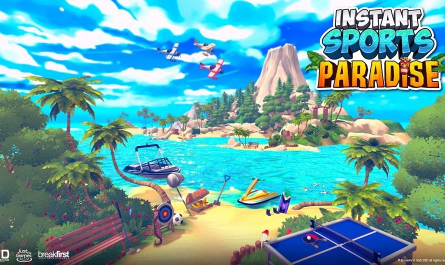 Test Instant Sports Paradise : réussir son party game n'est pas si simple