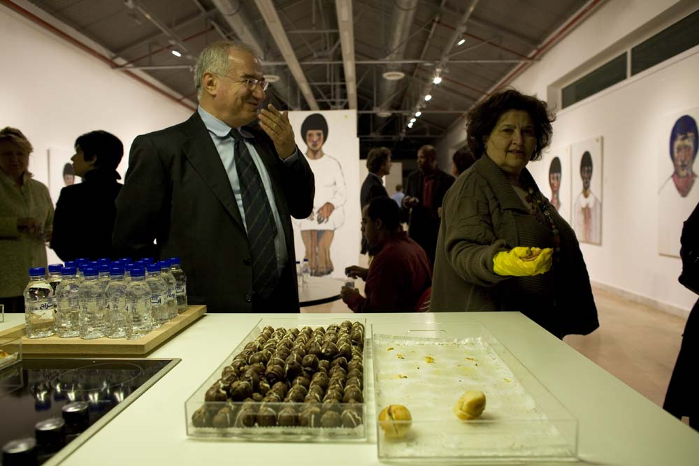 one of my favorites: Farida Al Sultan and her obsessive compulsiveness. you gotta love her for it