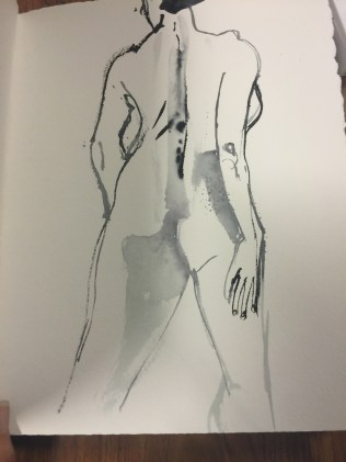 Two minute sketch.