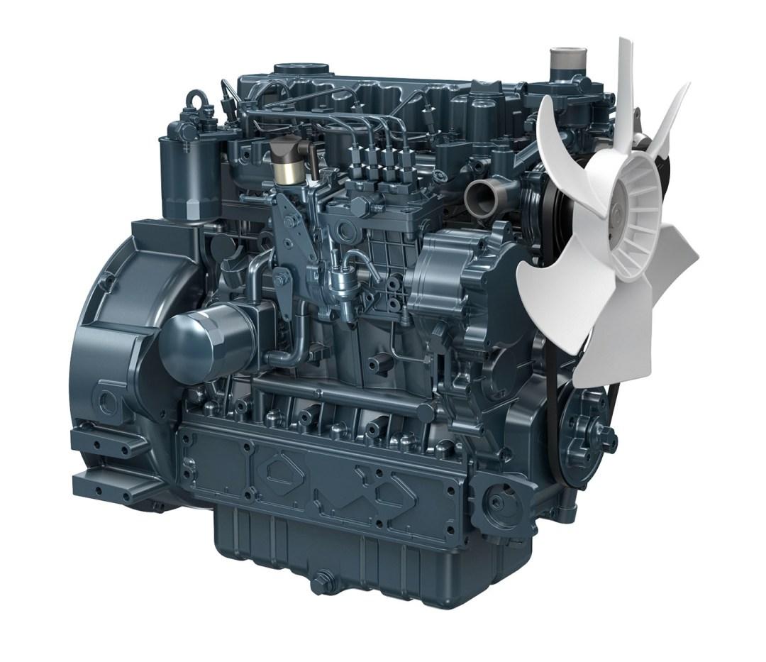 Kubota Engine V3300-E2BG2 - 30KVA 50Hz . Image