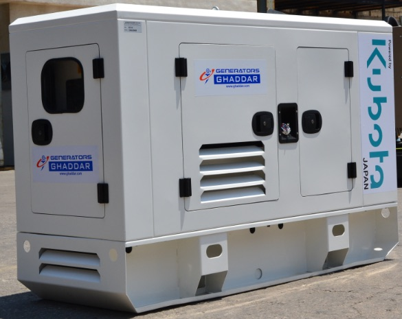2018 - Testing and verification of all GHADDAR open and canopied Genset against operation at high ambient temperature, vibration, back pressure and noise level according to most strict manufacturing standards.