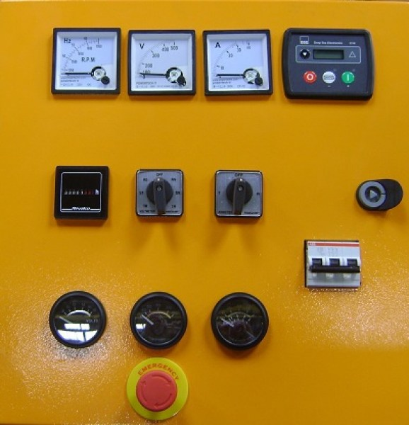 Control Panel GMP 260 With Deep Sea Controller 6010/20 MKII Image