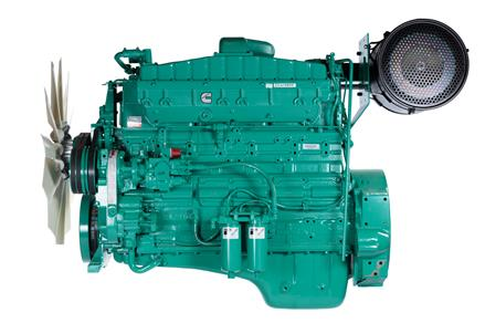 Cummins Diesel Engine NT855-G6 60Hz- 325 KVA Switchable Image