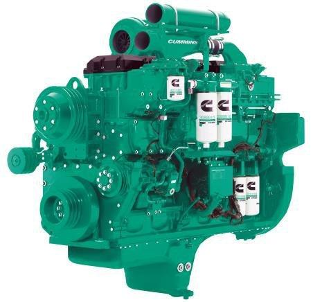 Cummins Diesel Engine QSK23-G2-750KVA 1500rpm Switchable Image