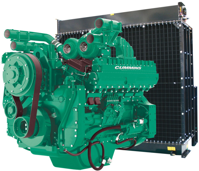 Cummins Diesel Engine QST30-G4-1150KVA 1800rpm Switchable Image