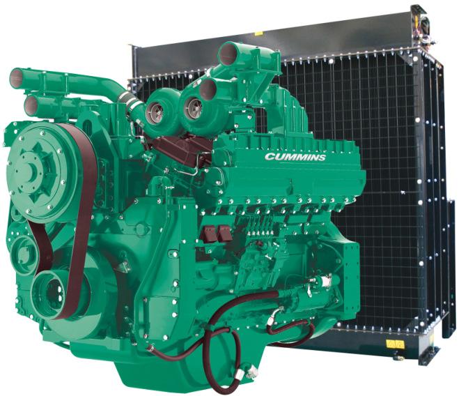 Cummins Diesel Engine QST30-G4 60Hz- 1150 KVA Switchable Image