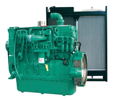 Cummins Diesel Engine QSX15-G7 60Hz- 500 KVA - Switchable Image