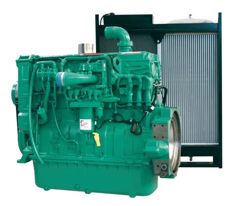 Cummins Diesel Engine QSX15-G8-450KVA 1800rpm Switchable Image