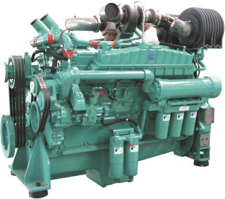 Cummins Diesel Engine VTA28-G5 60Hz- 680 KVA S Image