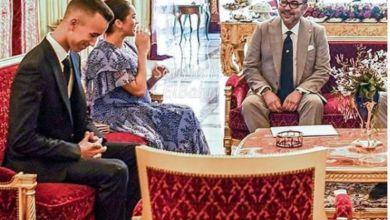 صورة أثناء زيارة الأمير هاري وزوجته للقصر الملكي.. فيديو أبهر المغاربة