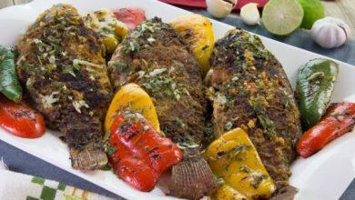 صورة مطبخ غالية.. طريقة تحضير السمك المشوي