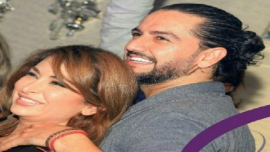 صورة فيديو رومانسي للسورية ديما بياعة وزوجها المغربي