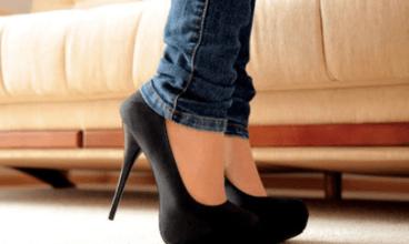 صورة احذري ارتداء نفس الحذاء طيلة اليوم