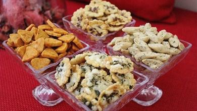 صورة حلويات العيد .. مملحات بعجين واحد واشكال ونكهات مختلفة