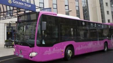 """صورة هذه حقيقة تخصيص حافلات """"وردية"""" للنساء"""