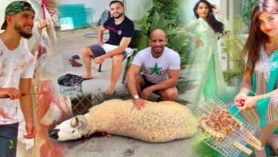صورة شي مفركس شي تايذبح شي تايشوي.. صور المشاهير نهار العيد