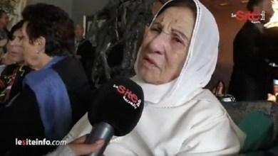 صورة بالفيديو.. آخر خروج لأمينة رشيد قبل وفاتها