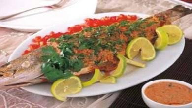 صورة أطباق سمك شهية وصحية