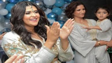 صورة شقيقة سلمى رشيد تدخل القفص الذهبي