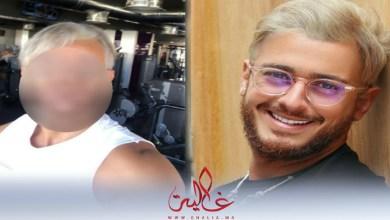 """صورة فنان عربي يقلد """"لوك"""" سعد لمجرد"""