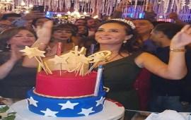 مفاجأة من زوج هند صبري في عيد ميلادها