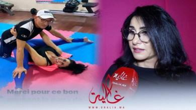 صورة الممثلة أسماء الخمليشي تردّ بخصوص صورها الجريئة رفقة مدربها وتؤكد: لا أسعى وراء البوز- فيديو