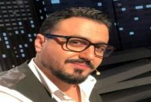 """صورة تتويج رشيد العلالي بلقب """"أفضل مقدم تلفزي"""""""