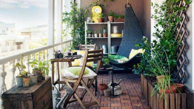 صورة 4 أفكار مميزة لتزيين شرفة منزلك