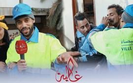 """مشاهد تعرض لأول مرة من كواليس سلسلة """"صلاح وفاتي"""".. وطاليس يكرم عمال النظافة- فيديو"""