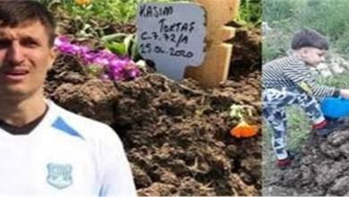 """صورة صادم.. لاعب كرة قدم """"يقتل"""" ابنه"""