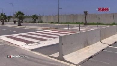 صورة السلطات تغلق شارع عين الذياب لمنع وصول البيضاويين إلى الشاطئ- فيديو