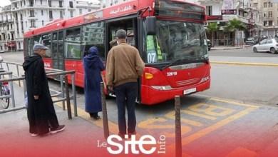 """صورة هام.. توقيف حركة النقل بـ """"الطوبيسات"""" بين البيضاء والمحمدية"""