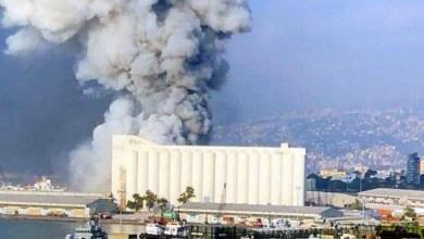 صورة مغنية مغربية شهيرة تنجو بأعجوبة من انفجار بيروت