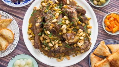"""صورة أطباق عيد الأضحى.. طريقة سهلة ومضمونة لتحضير """"المروزية"""" – فيديو"""