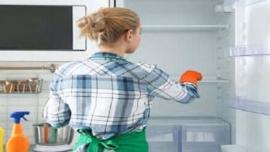 صورة 5 مراحل لتنظيف الثلاجة من الداخل